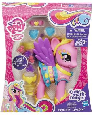 Подробнее о Игровой набор Hasbro My Little Pony Пони-модница Принцесса Каденс B1370 hasbro my little pony игровой набор модница