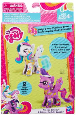 """Игровой набор Hasbro My Little Pony Стильные пони """"Создай свою пони"""" B3589"""
