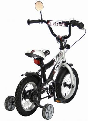 "Велосипед Velolider Lider Shark 12"" двухколёсный 12a-1287gr серый/черный"