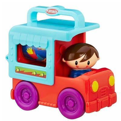 Грузовик HASBRO Playskool Сложи и кати, возьми с собой разноцветный hasbro игрушка каталка playskool возьми с собой мини щенок