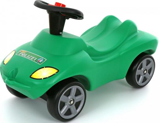 Каталка-машинка Wader Полиция зеленый от 1 года пластик 42231