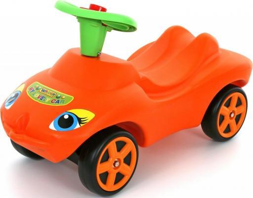 Каталка-машинка Wader Мой любимый автомобиль оранжевый от 10 месяцев пластик 44600