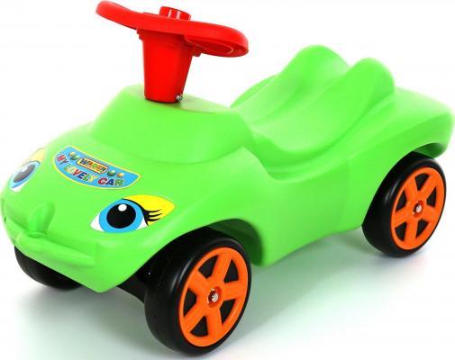 Каталка-машинка Wader Мой любимый автомобиль зеленый от 10 месяцев пластик 44617 машины wader автомобиль констрак полиция