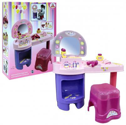 Купить Игровой набор Полесье Салон красоты PIU PIU №1 8 предметов 42514, Wader, для девочки, Игровые наборы Маленькая красавица