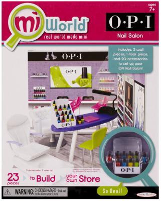 Игровой набор Jakks Ногтевой салон Miworld Opi