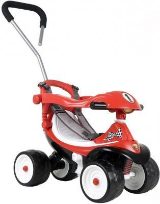 Каталка-машинка Coloma Квадрик Formula 2 красный от 6 месяцев пластик 46314 каталка ходунок coloma trimarc разноцветный от 18 месяцев пластик
