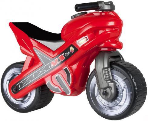 Каталка-мотоцикл Coloma MOTO MX красный от 18 месяцев пластик 46512 каталка ходунок coloma trimarc разноцветный от 18 месяцев пластик