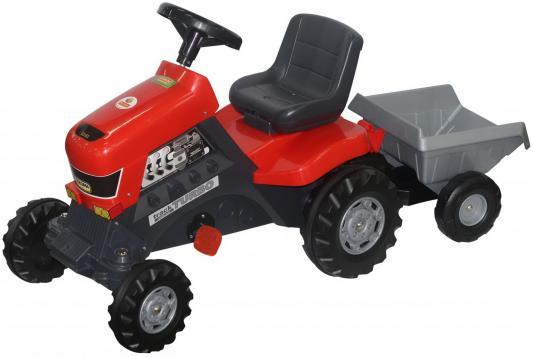 Coloma Каталка-трактор с педалями Turbo с полуприцепом 52681 цена