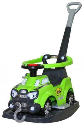 Каталка-машинка Molto Sokol зеленый от 8 месяцев пластик 48325