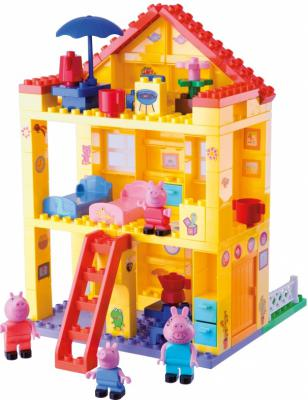 Конструктор Big Любимый дом Peppa Pig 107 предметов 57078
