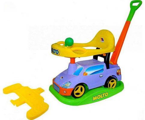 """Каталка-машинка Molto """"Пикап"""" многофункциональный №2 разноцветный до 1 года пластик 6324"""