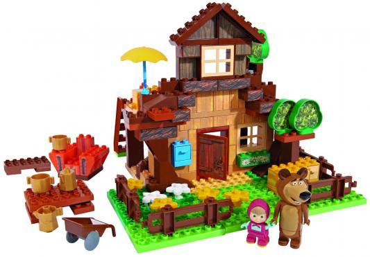 Конструктор Smoby Маша и Медведь: Дом Мишки 163 элемента 800057098