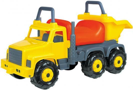 Каталка-машинка Cavallino Супергигант-2 желтый от 2 лет пластик 7889 cavallino 5113 автомобиль самосвал супергигант cavallino