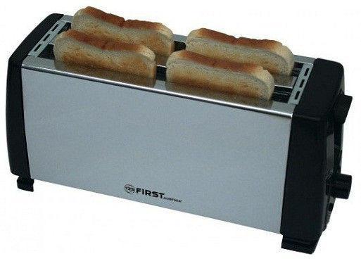 Тостер First FA-5367-CH серебристый тостер first fa 5367 1 чёрный
