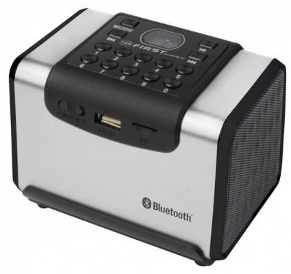 Акустическая система First FA-1920-1 SI Bluetooth серебристый