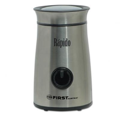 Кофемолка First 5485-3 150 Вт стальной кофемолка first 5485 1 ba 150 вт серебристый
