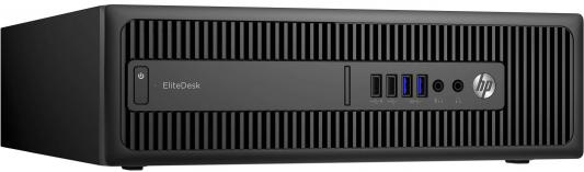 Системный блок HP EliteDesk 800 i5-6500 3.2GHz 8Gb 128Gb SSD HD530 DVD-RW Win7Pro Win10Pro клавиатура мышь черный T4J17EA