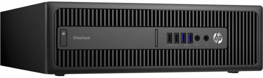 Системный блок HP EliteDesk 800 i5-6500 3.2GHz 4Gb 1Tb HD530 DVD-RW Win7Pro Win10Pro клавиатура мышь черный V6K77ES