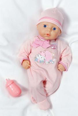 Кукла Zapf Creation Baby Annabel с бутылочкой 36 см 116216