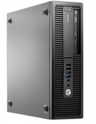 Системный блок HP EliteDesk 705 A8-8650 3.2GHz 4Gb 500Gb Radeon R7 DVD-RW Win7Pro Win10Pro клавиатура мышь черный M9B17EA
