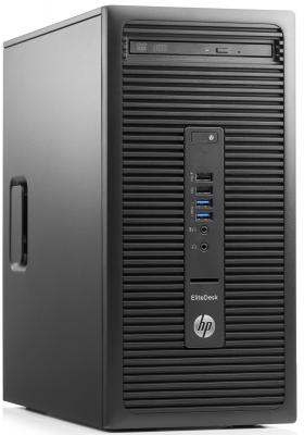 Системный блок HP EliteDesk 705 A8-8650 3.2GHz 4Gb 500Gb Radeon R7 DVD-RW Win7Pro Win10Pro клавиатура мышь черный M9B18EA