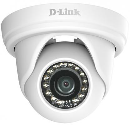 Камера IP D-Link DCS-4802E/UPA/A1A/A2A CMOS 1/3'' 1920 x 1080 H.264 MJPEG RJ-45 LAN PoE белый цена 2017
