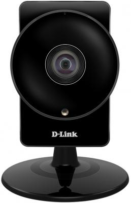 "Камера IP D-Link DCS-960L/A1A CMOS 1/2.7"" 1280 x 720 H.264 MJPEG RJ-45 LAN Wi-Fi PoE черный"