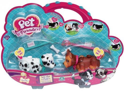 Игровой набор Giochi Preziosi Фигурки собачек с косточками и поводком в ассортименте