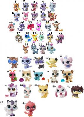Игрушка HASBRO Littlest Pet Shop A8229 в ассортименте hasbro littlest pet shop b6625 литлс пет шоп набор зверюшек малышей