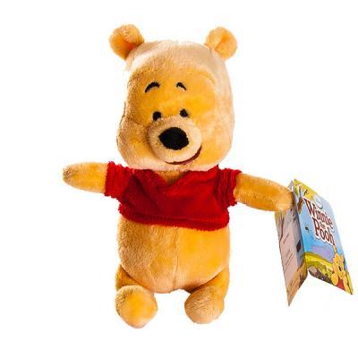 Мягкая игрушка герой мультфильма Disney Винни плюш желтый 17 см 6901014002889 мягкая игрушка герой мультфильма disney стаффи плюш голубой 20 см