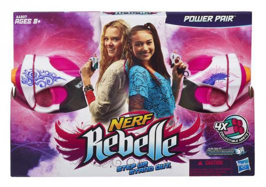 "Набор бластеров Nerf N-Rebelle ""Сладкая парочка"" для девочки"