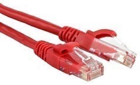 Патч-корд U/UTP 6 категории 3м Hyperline PC-LPM-UTP-RJ45-RJ45-C6-3M-LSZH-RD красный