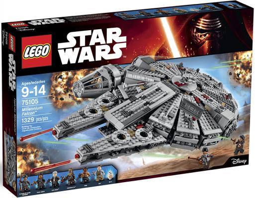 Конструктор Lego Звездные войны: Сокол Тысячелетия 1329 элементов 75105