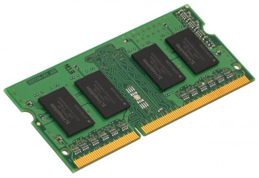 Оперативная память для ноутбуков SO-DDR3 4Gb PC12800 1600MHz Kingston KCP3L16SS8/4 цена