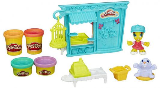 Набор для лепки Hasbro Play-Doh Город Магазинчик домашних питомцев B3418
