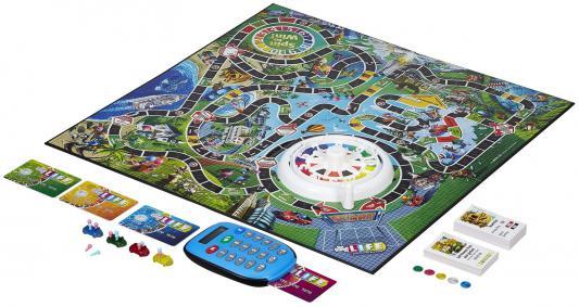 Настольная игра Hasbro ходилка Игра в жизнь с банковскими картами