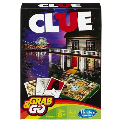 Настольная игра Hasbro дорожная Клуэдо 5010994889661 настольная игра hasbro hasbro настольная игра монополия миллионер