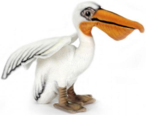 Мягкая игрушка пеликан Hansa 2960 искусственный мех 16 см мягкая игрушка собака hansa собака породы бишон фризе искусственный мех белый 30 см 6317