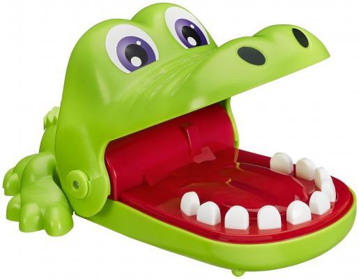 Настольная игра HASBRO логическая Крокодильчик Дантист настольная игра hasbro hasbro настольная игра монополия миллионер