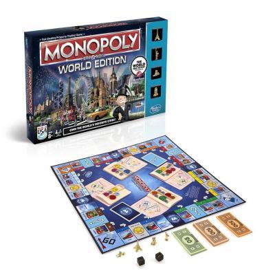 Настольная игра Hasbro ходилка Монополия Bсемирная