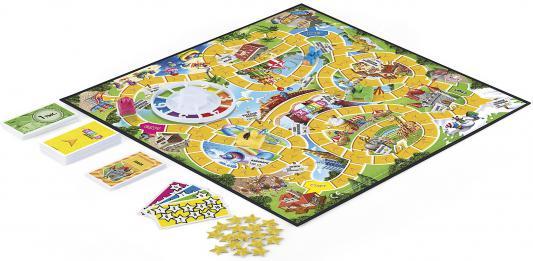Купить Настольная игра Hasbro ходилка Игра в жизнь Моя первая игра, 26.7 х 5 х 26.7 см, Игры Hasbro и Mattel