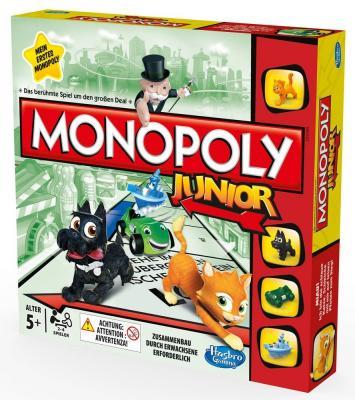 Настольная игра для вечеринки HASBRO Монополия Моя первая игра A6984H настольная игра hasbro монополия миллионер 98838