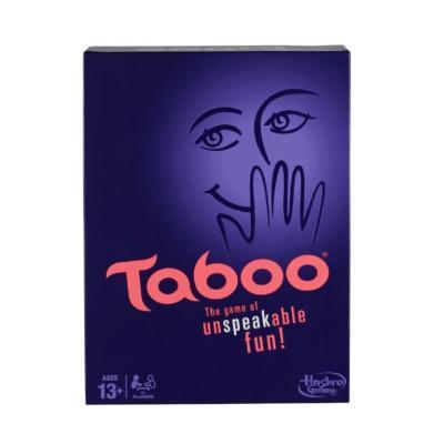 Настольная игра Hasbro логическая Табу 5010994731649 hasbro other games a4626 настольная игра табу