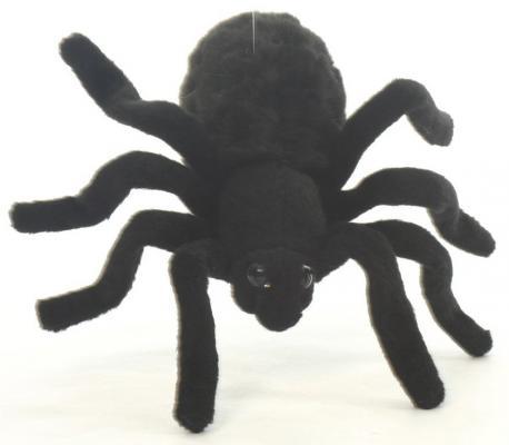 Мягкая игрушка тарантул Hansa 4729 искусственный мех черный 19 см