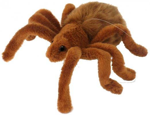 Мягкая игрушка тарантул Hansa 4726 искусственный мех коричневый 19 см