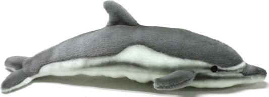 Мягкая игрушка дельфин Hansa 5042 искусственный мех серый 40 см