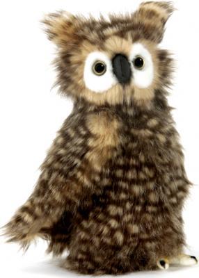 Мягкая игрушка сова Hansa 4465 искусственный мех разноцветный 24 см