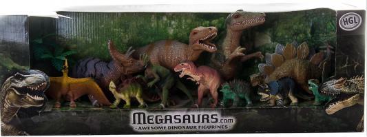 Игровой набор HGL Megasaurs 11 предметов в ассортименте