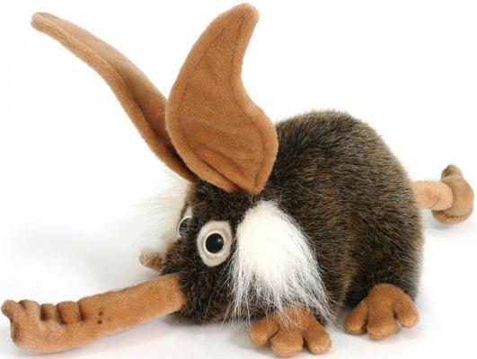 Мягкая игрушка Hansa Троль с носом искусственный мех коричневый 26 см 2768 мягкая игрушка собака hansa йоркширский терьер искусственный мех коричневый 36 см 5909