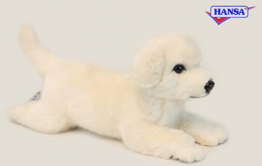 Мягкая игрушка собака Hansa Себастиан искусственный мех 42 см 6390
